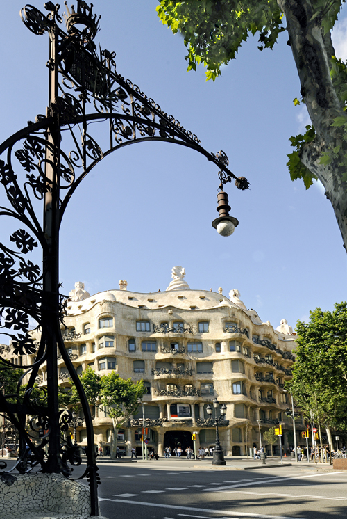 Barcelona Weather La Pedrera Gaudi