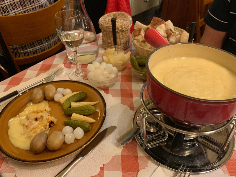 Best Cheese Fondue in Zurich