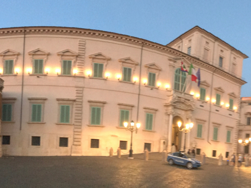 Quirinale Palace in Rome