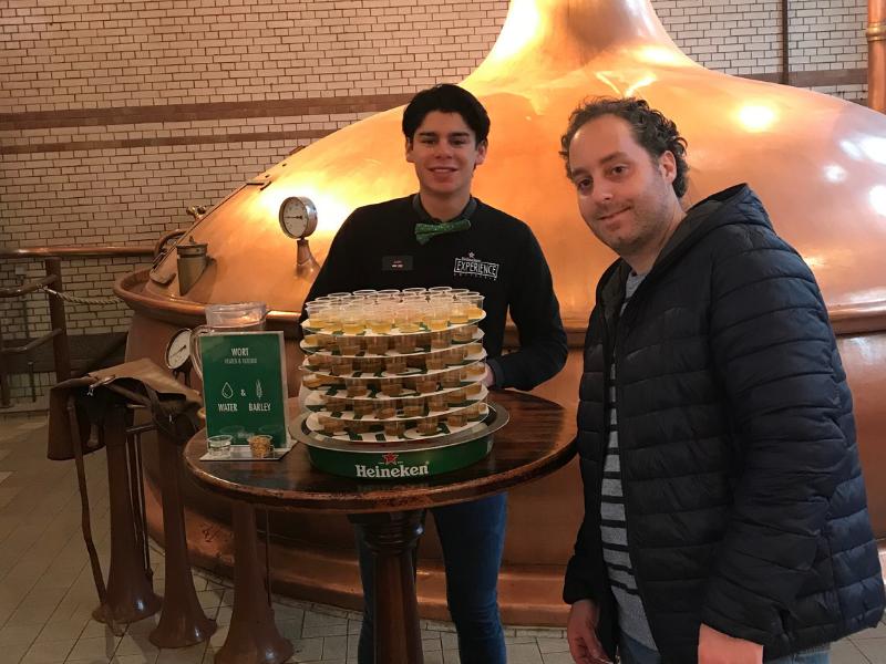 Beer Tasting Heineken Experience